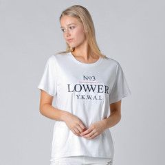 Lower Active Tee / Case - White