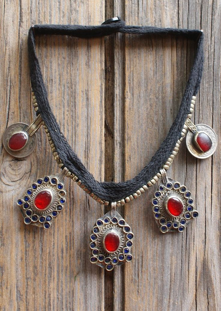Karma East - Vintage Tribal Necklace 8