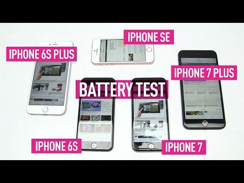 iPhone uzun kullanım testinde (iPhone 7, 7 Plus, 6s, 6s Plus, iPhone SE )