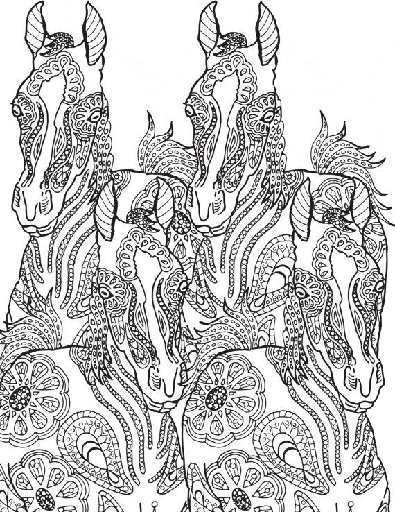 Diabetes Diet Adult Coloring Pages Zebras It Was Horse Xmas Drawing Drawings