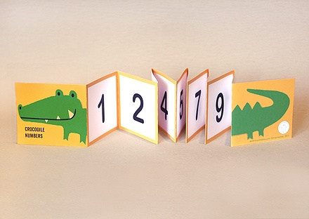 Croc number line 1 to 10