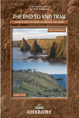 End to End Trail front cover Land's End to John O'Groats