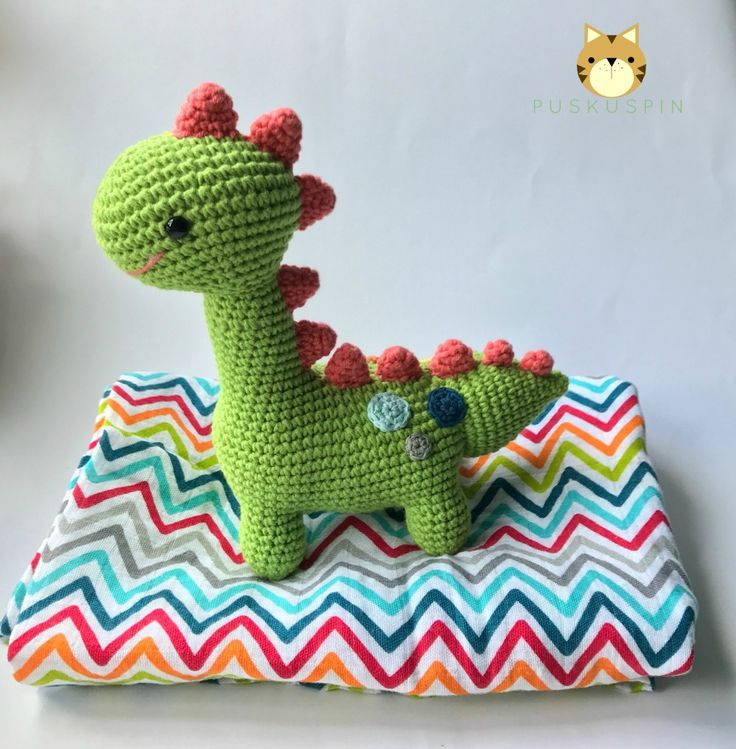 194 best Dinosaurios tejidos images on Pinterest | Patrones ...