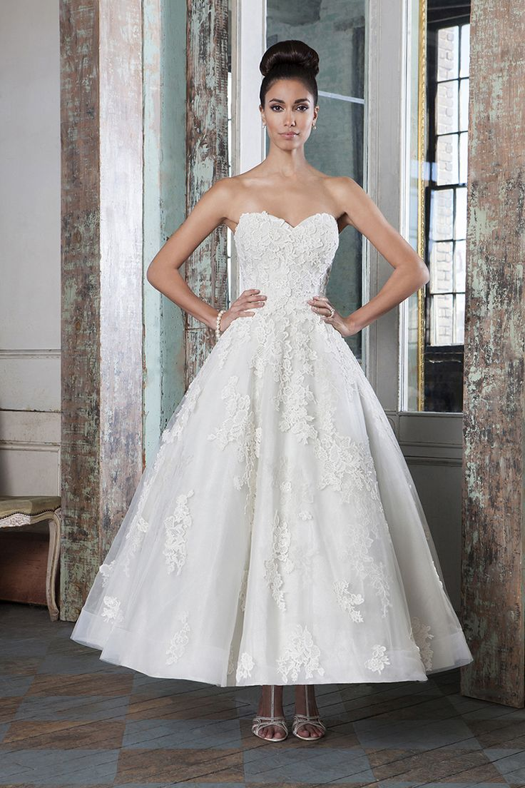 vestido de novia a�os 50
