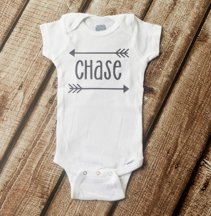 Personalized Arrow Onesie, Arrow Onesie, Custom Arrow ...