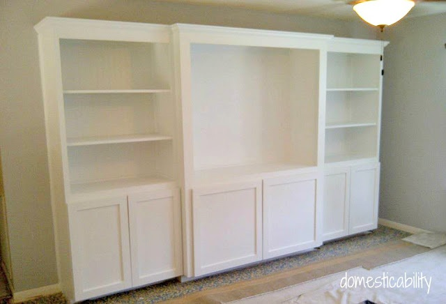 Diy Built In Media Center Like This But Not So Big Coming