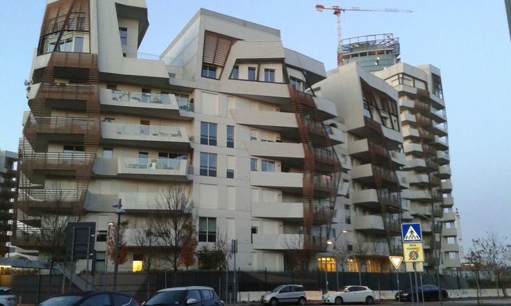 #ResidenzeLibeskind #DanielLibeskind #CityLife #Milano #architecture