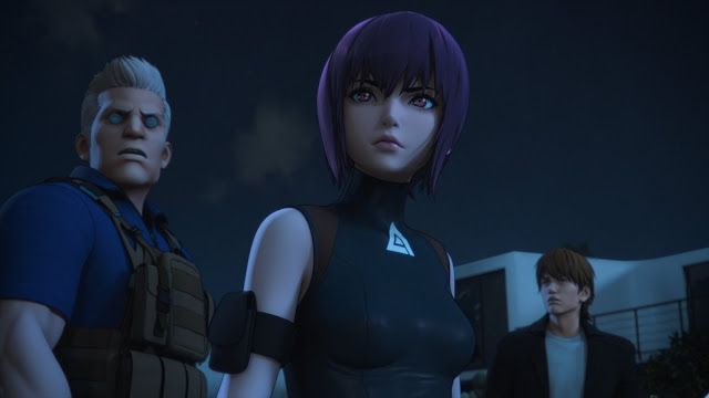 The Movie Sleuth Netflix News New Images From Ghost In The Shell Sac 2045 Ghost In The Shell Anime Ghost Ghost