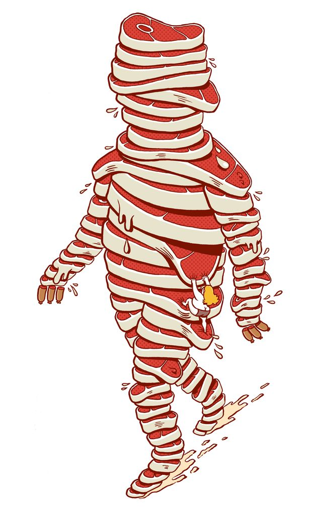 recuerdo haber visto esta ilustración de Brosmind en una étapes... y es increíble! la amo!