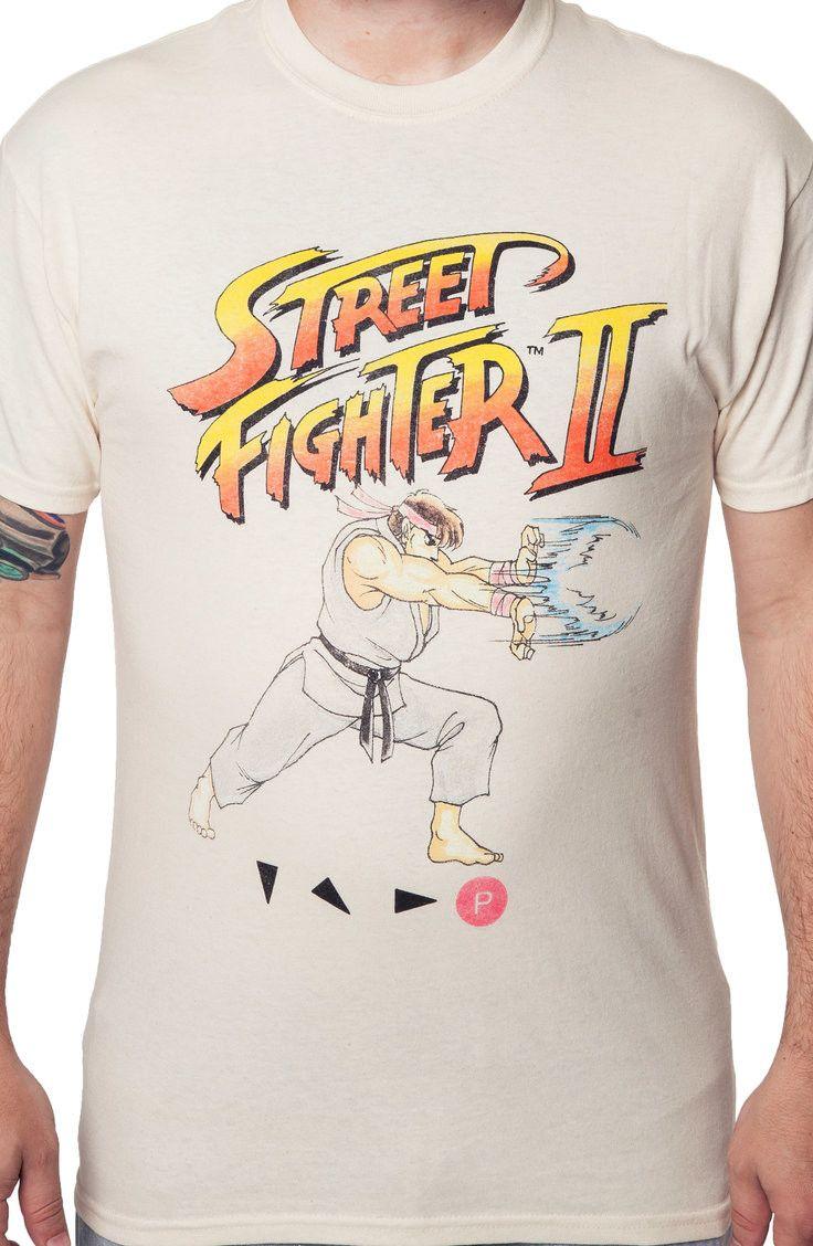 Street Fighter II Ryu Shirt: 80s Video Game Shirts