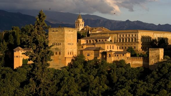 The Alhambra, Granada, Spain = Beautiful!