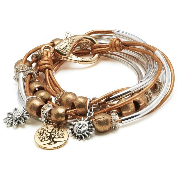 20 best stackable styling for leather wrap bracelets for Who sells lizzy james jewelry