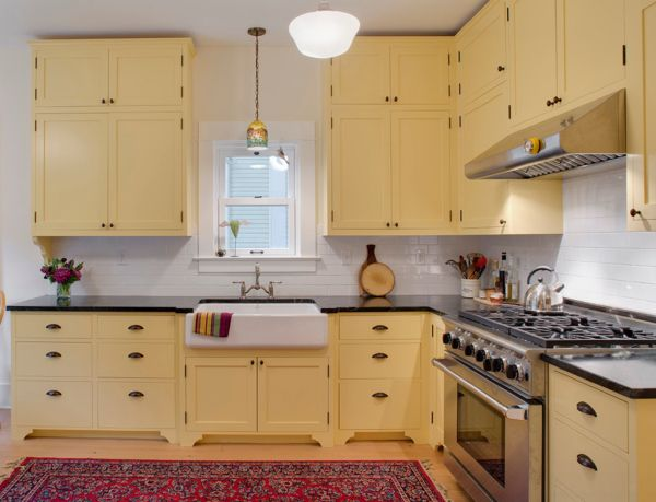 Yellow Painted Kitchens 42 best painted kitchen images on pinterest | home, kitchen and