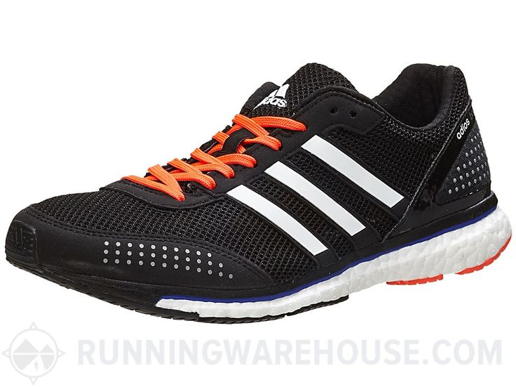 adidas adizero adios Boost 2 Men\u0027s Shoes Black/Whte/Red