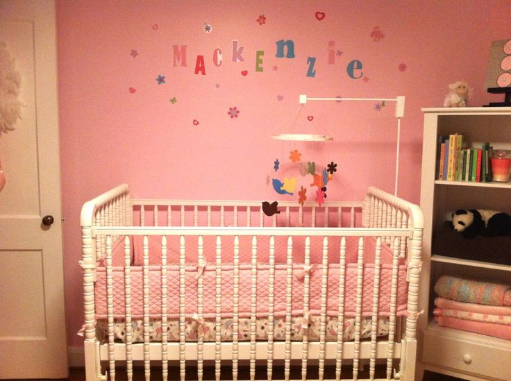 Diy Crib Mobile Arm Peach Orchard Tea Party Nursery