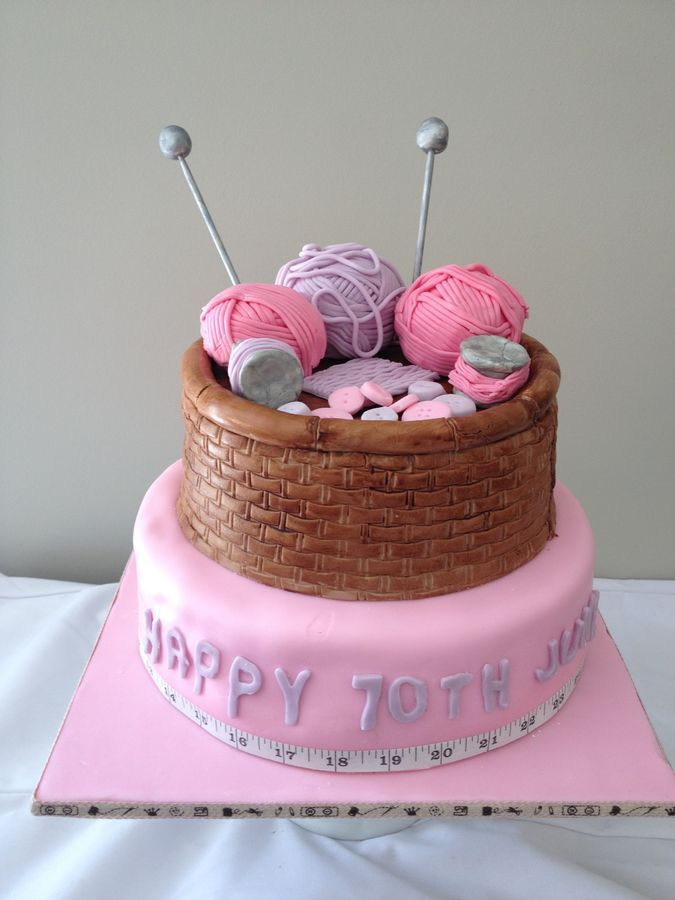 25+ best ideas about Knitting cake on Pinterest Fondant ...