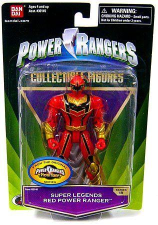 Collectible Power Ranger Super Legends Series 18 Red Power Ranger