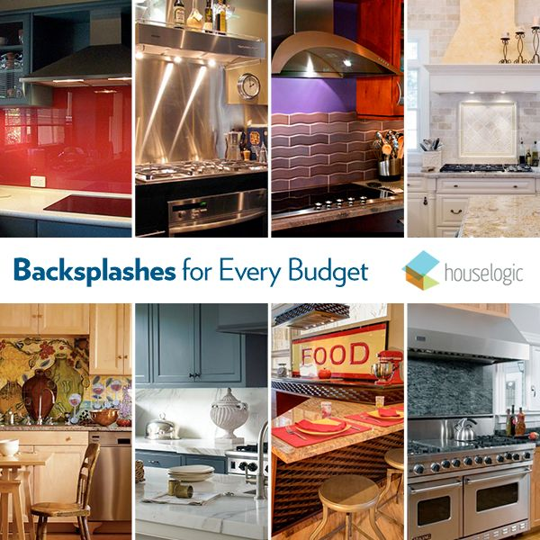 Budget Friendly Kitchen Design Ideas: 12 Kitchen Backsplash Ideas To Fit Any Budget: Fabulous
