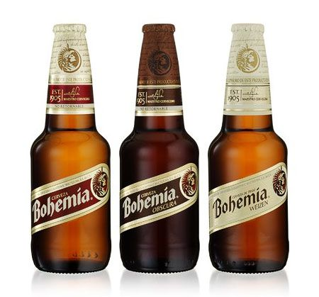bohemia beer..i feel like i need to try this, being bohemian and all