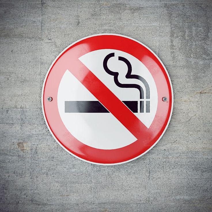 Самая красивая табличка «Не курить!» в России