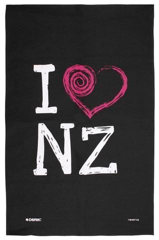 I Heart NZ Tea Towel