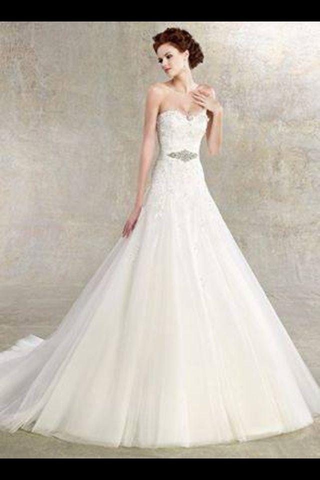 10 best Romantische Brautkleider images on Pinterest | Cinderella ...