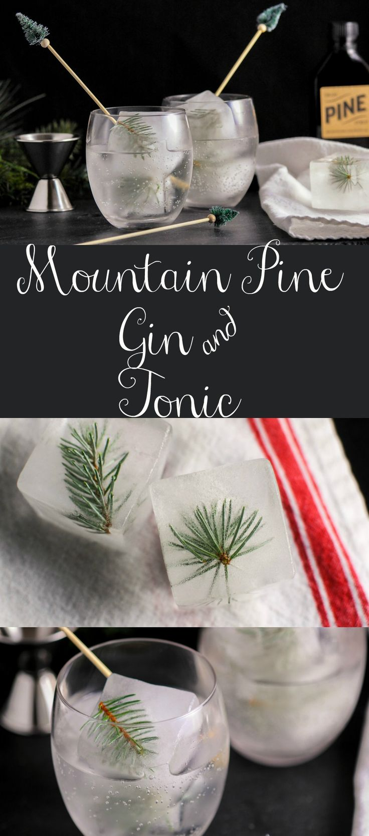 Mountain Pine Gin & Tonic  cocktail, recipe, tonic water, easy, craft cocktail, calories, best, parties, party, punch, ideas, cocktails,