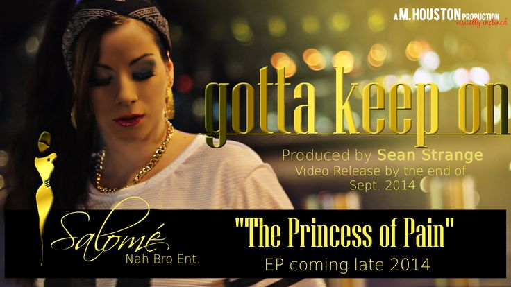 """Video """"gotta keep on"""" coming soon! First song of the coming  EP """"Princess of Pain"""""""