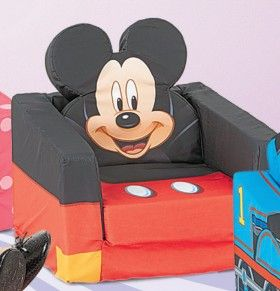 Mickey Mouse Shaped Flip-Out Micky, Minnie, Thomas and Sophia available $35