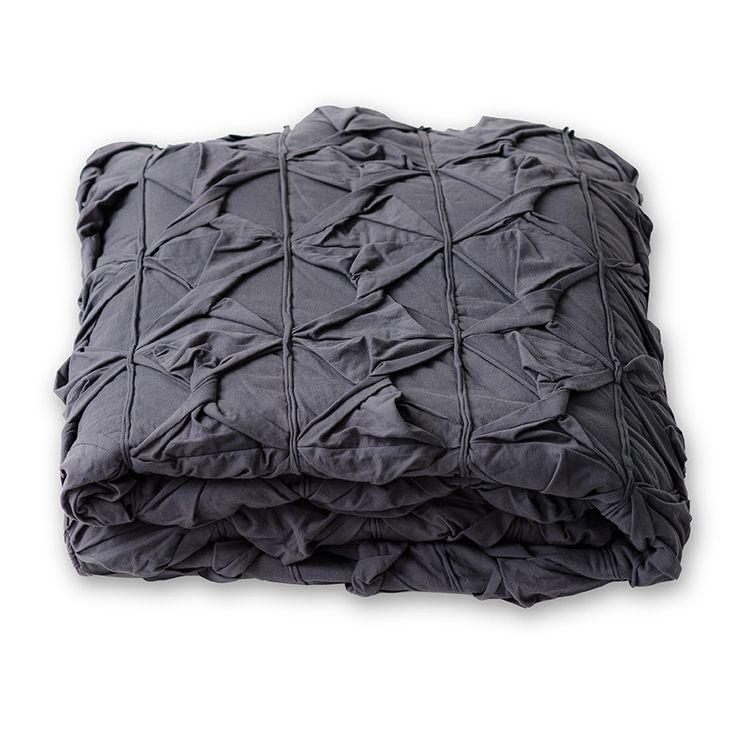 Twister Bedding in Slate queen $325