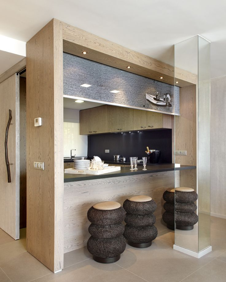 Molins Interiors // arquitectura interior - cocina - comedor - barra - vinilo…