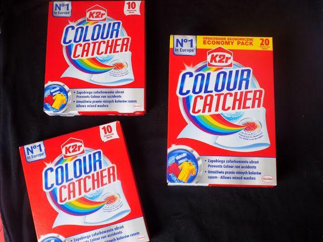 #zlapkolor z Chusteczkami Colour Catcher #rekomendujto #colourcatcher