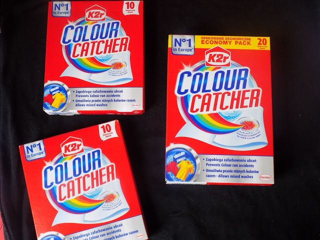 #zlapkolor z Chusteczkami Colour Catcher #rekomendujto #colourcatcher