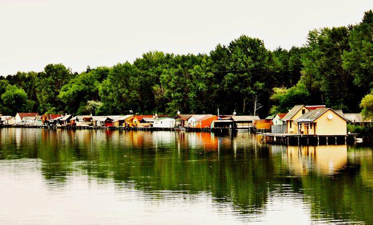 Bokod - little town on water