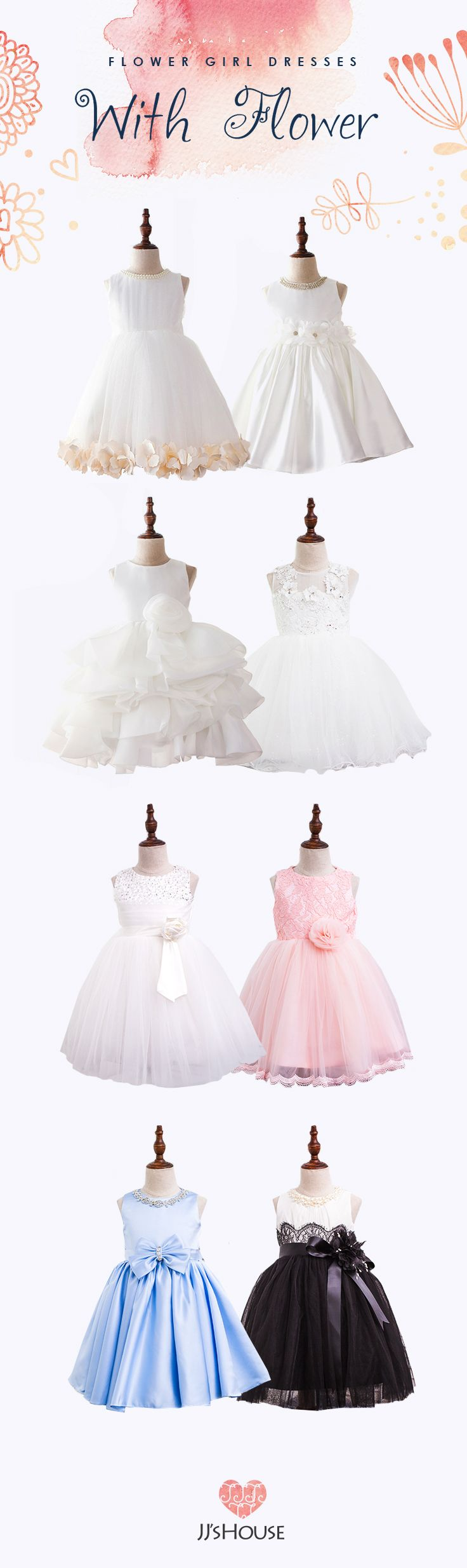 Adorable JJsHouse Flower Girl Dresses #flowergirldress