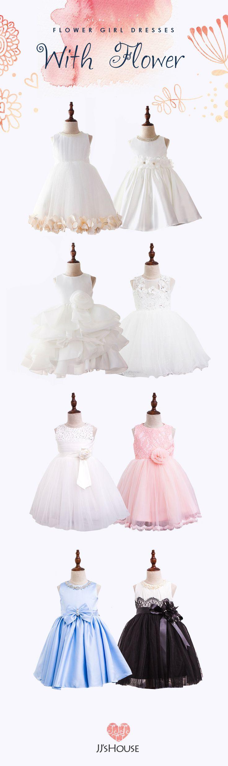 Adorable JJsHouse Flower Girl Dresses #flowergirldress