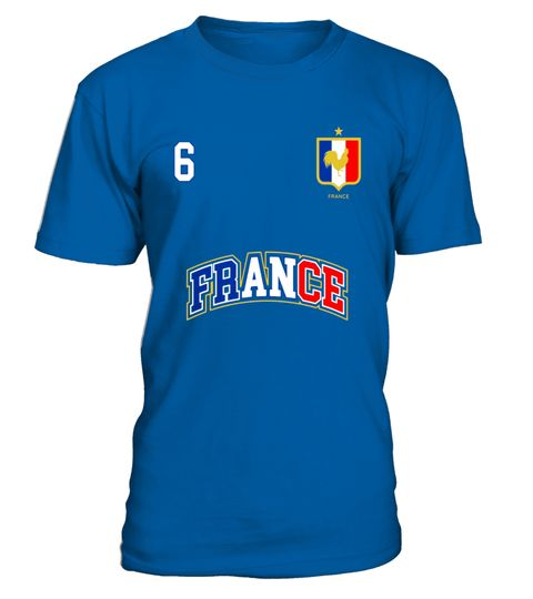 "# France Shirt Number 6 BACK Soccer Team Sports French Flag .  Special Offer, not available in shops      Comes in a variety of styles and colours      Buy yours now before it is too late!      Secured payment via Visa / Mastercard / Amex / PayPal      How to place an order            Choose the model from the drop-down menu      Click on ""Buy it now""      Choose the size and the quantity      Add your delivery address and bank details      And that's it!      Tags: No. 6 PRINTED ON BACK…"