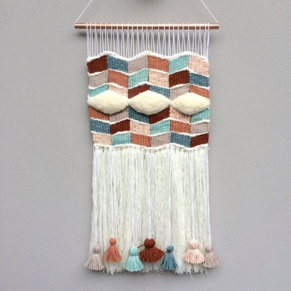 Weaving Wall Hanging by WillowBrookeDesign on Etsy