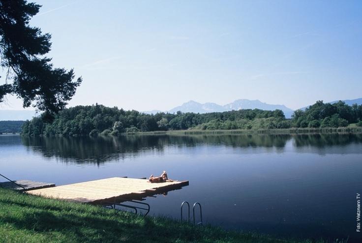 Abtsdorfer See Berchtesgaden Land Upper Bavaria