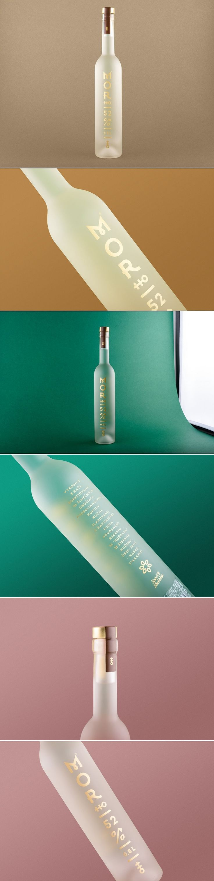 Morho is a Traditional Slovakian Spirit With A Nice Minimalistic Look — The Dieline | Packaging & Branding Design & Innovation News
