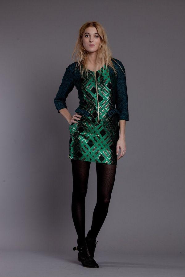 ROBE VERUSHKA BROCARD  http://www.heimstone.com/fr/product/collection+femme/robes/h1303v2as,v2as+verts,robe-verushka.html