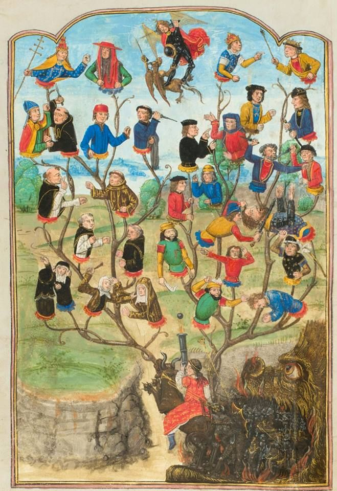 Image result for medieval life in paintings