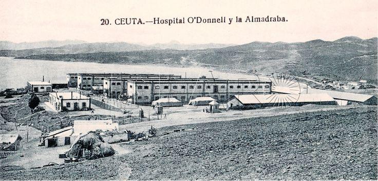Lo llamaron Hospital Militar O'Donnell por el general del mismo nombre que pernoctaba junto a su destacamento de camino a la contienda en Marruecos