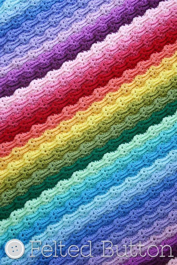 Mejores 987 imágenes de Blankets en Pinterest | Abalorios, Afganoc ...