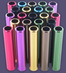 Anodisation colorée