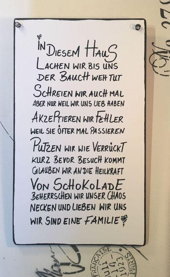 """""""HAUS… """" – Wandschild Deko Shabby Vintage in Möbel & Wohnen, Dekoration, Schi… – isabels sügling"""
