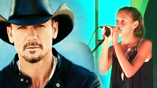 Country Music Lyrics - Quotes - Songs Tim mcgraw - Audrey McGraw Can Sing! Check out Tim McGraw and Faith Hill's Daughter (VIDEO) - Youtube Music Videos http://countryrebel.com/blogs/videos/18302675-audrey-mcgraw-can-sing-check-out-tim-mcgraw-and-faith-hills-daughter-video