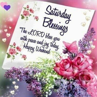 #saturday #good #morning #blessings