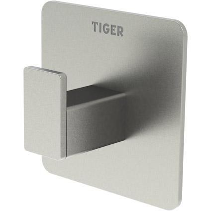 Tiger Haak Pull Square RVS  Met de haak van Pull Square breng je op een snelle en eenvoudige manier een centraal punt aan voor al je benodigdheden in de badkamer of keuken. Het fraai ontworpen haakje past door het formaat zonder problemen in iedere ruimte en je weet voortaan alles te vinden.  EUR 11.42  Meer informatie