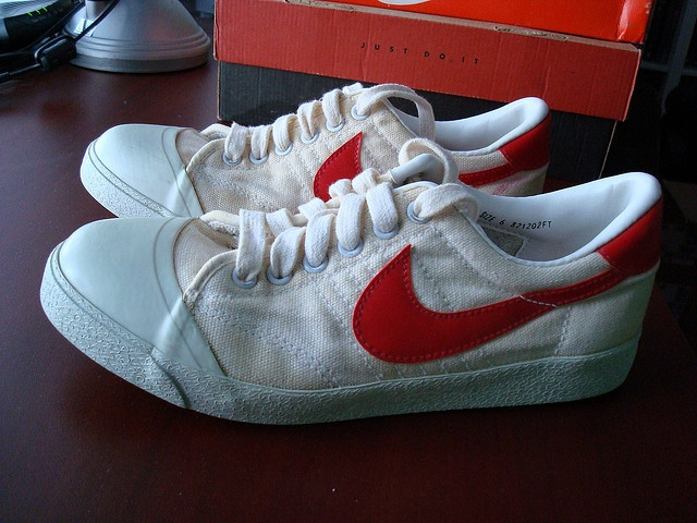 VINTAGE NIKE With Red Swooshhad These Too